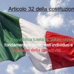 Art.32 della costituzione: La tutela della salute e i diritti del malato